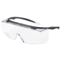 Über-/Schutzbrille Uvex 9169 super f OTG, Filtertyp 2C, schwarz, Scheibe farblos