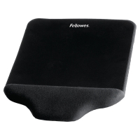 Tapete con reposamuñecas para ratón FELLOWES Fusion color negro