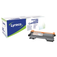 Cart. de toner Lyreco compatible avec Brother TN-2220, noir