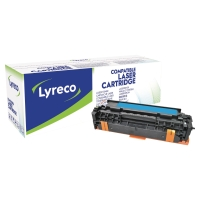 Lyreco compatibele HP CE411A laser cartridge nr.305A cyaan [2.600 pagina s]