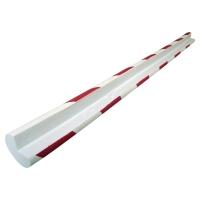 VISO Okrúhla ochrana rohu 750x40x25x25mm červená/biela
