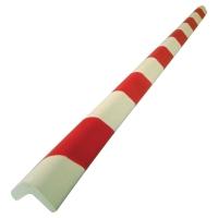 VISO Okrúhla ochrana rohu 750x30x30x8mm červená/biela