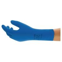 Rękawice ANSELL Universal™ Plus 87-665, rozmiar 7,5 - 8, niebieskie, para