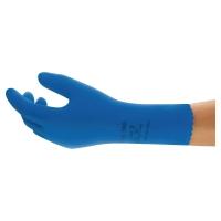 Ansell Universal Plus 87-665 chemische handschoenen blauw - maat 8/9 - 12 paar