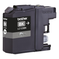 Brother LC-123BK inktcartridge zwart [600 pagina s]