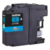 Brother LC-123C inktcartridge blauw [600 pagina s]