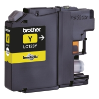Brother LC-123Y inktcartridge geel [600 pagina s]