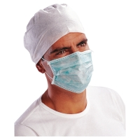 DELTAPLUS Jednorázové hygienické rúška, 50 kusov v balení