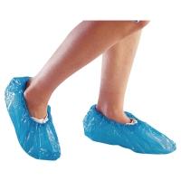 Überschuhe Deltaplus, mit Gummizug, Polyethylen blau, Packung à 50 Paar