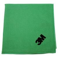 Pack de 10 bayetas Scotch Brite de microfibra Esencial color verde 360x360mm