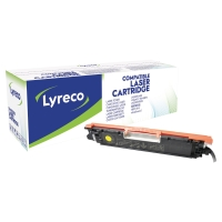 Tóner láser LYRECO amarillo compatible con CANON 729Y LBP7010C y HP 126A CP1025