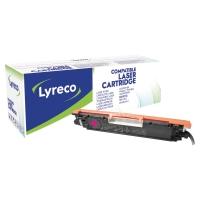 Tóner láser LYRECO magenta compatible con CANON 729M LBP7010C y HP 126A CP1025