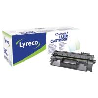 LASERTONER LYRECO KOMPATIBEL HP CF280A SVART