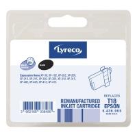 Lyreco compatibele inkjet cartridge Epson T180140 zwart [5,3 ml]