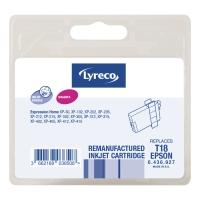 Lyreco compatibele inkjet cartridge Epson T180340 magenta [3,3 ml]
