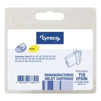 Lyreco compatibele inkjet cartridge Epson T180440 geel [3,3 ml]