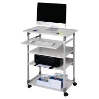 Mesa para ordenador DURABLE 3720 con ruedas