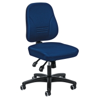 Prosedia Younico 1402 bureaustoel met asynchroon contact - blauw