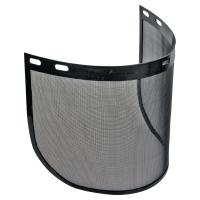 DELTAPLUS VISORG Set ochranných štítov, čierny, 2 ks v balení