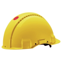 Hełm ochronny 3M G3000 NUV-GU, żółty