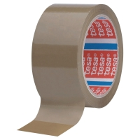 Pack de 6 cinta embalar TESA polipropileno 50x66 marrón 4089