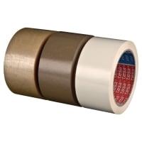 Tesa 4120 PVC verpakkingstape 50 mm x 66 m wit - pak van 6