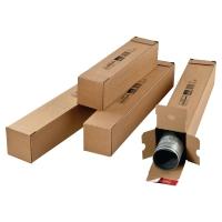 Pack de 10 tubos portaplanos rectangulares 705x108x108 mm