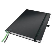 Leitz Complete zápisník, A4, linajkový, čierny