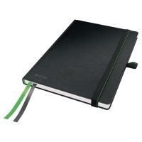 Leitz zápisník, tvrdý, A5, 5x5 štvorčekový, čierny