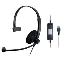 Słuchawki Sennheiser SC30 USB CTRL, jednouszne