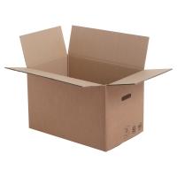 Boite de déménagement ondulé + poignées 550 x 350 x 350 - paquet de 10