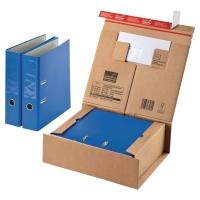 Pack de 10 cajas de envío con bolsillo para documentacion 330x290x120 mm