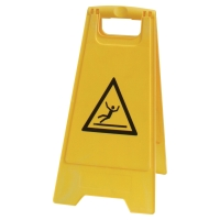 """VISO Výstražná značka """"Klzká podlaha"""" žltá"""