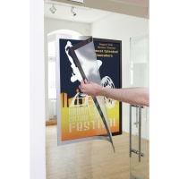 CADRE D AFFICHAGE ADHESIF DURAFRAME POSTER DURABLE A2 ARGENT 499523