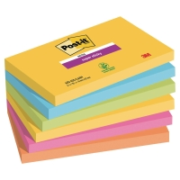 Pack de 6 Post-it Super Sticky 76x127 mm colores Rio de Janeiro