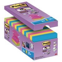 Pack de 14+2 Post-it Super Sticky Z-notes 76x76 mm colores Rio de Janeiro
