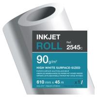 Rollo de papel de Plotter Clairefontaine 90g 610mmx45m