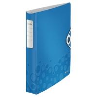 Carpeta de 4 anillas LEITZ Wow Active A4 azul