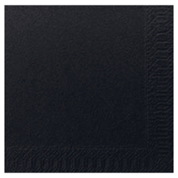 Paquete de 300 servilletas Tisú DUNI de 240x240mm de color negro