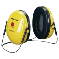 Mušľové chrániče sluchu 3M™ PELTOR OPTIME I s pásom okolo krku