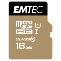 Karta pamięci Micro SDHC Gold z adapterem 300X 16GB