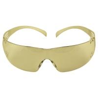 Okulary ochronne 3M™ SecureFit™, filtr UV 2C-1,2, soczewki żółte