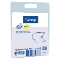 Lyreco cartouche compatible Brother LC-1220 jaune [300 pages]