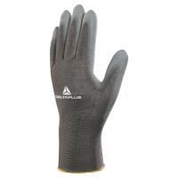 Multifunctionele handschoen met PU coating grijs - maat 10 - pak van 12 paar