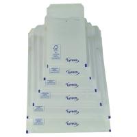Obálky biele bublinkové Lyreco 210 x 150 mm, balenie 100 kusov