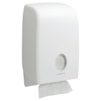 Dispensador de toallas engarzadas KIMBERLY-CLARK Aquarius® de color blanco