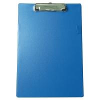 Base de PVC con clip metálico dimensiones 230x340mm Color azul