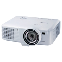 Canon prenosný projektor LV-WX310ST, port RJ-45 a port HDMI™ kompatibilný s MHL