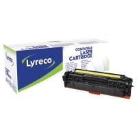 Toner Lyreco kompatibel zu HP CF382A, 2700 Seiten, yellow