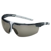 Uvex I-3 veiligheidsbril - zwart/licht grijs